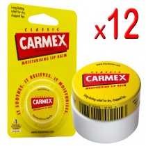 Carmex Original Lip Balm Pot 7.5g (Pack of 12)
