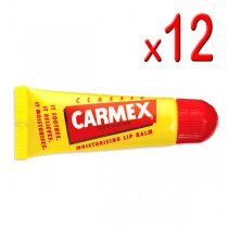 Carmex Original Lip Balm Tube 10g (Pack of 12)