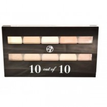 W7 10 out of 10 Browns / Nude Eye Palette