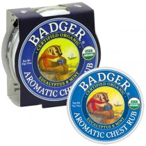 Mini Badger Balm 21g Aromatic Chest Rub