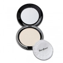Stargazer Compact Pressed Powder Puff & Mirror Natural Shimmer