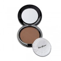 Stargazer Compact Pressed Powder Puff & Mirror Tan