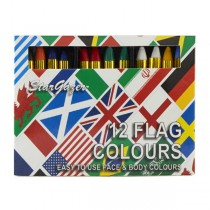 Stargazer Colour Sticks Flags Kit