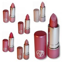 W7 Pinks Lipsticks Collection - Set of Six