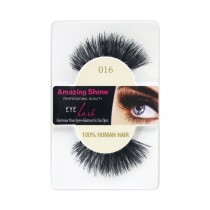 Amazing Shine 100% Natural Hair False Eyelashes High Quality Fake Eye Lashes 016