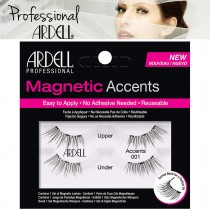 Ardell Magnetic Lashes Natural Accent Lash 001 Reusable False Eyelashes - Black