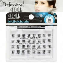 Ardell Duralash Individual Knotted Flare Trio False Eyelashes - Medium - Black