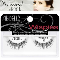 Ardell Cosmetics Wispies False Fake Eyelashes Invisibands - Black Wispy 122
