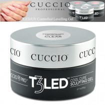 Cuccio T3 Gel LED/UV Controlled Levelling Sculpt & Smooth Viscosity - Clear 28g