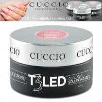 Cuccio T3 Gel LED/UV Controlled Levelling Viscosity Thick Opaque Petal Pink 28g