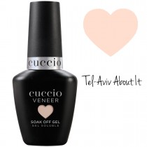 Cuccio Gel Nail Polish Veneer CORE COLOUR Tel-Aviv About It UV LED Lamp Soak Off 13ml