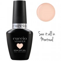 Cuccio Gel Nail Polish Veneer CORE COLOUR See it all in Montreal UV LED Lamp Soak Off 13ml