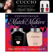 Cuccio Gel Nail Polish Match Maker Veneer See it all in Montreal Varnish Lacquer