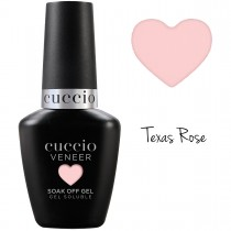 Cuccio Gel Nail Polish Veneer CORE COLOUR Texas Rose  UV LED Lamp Soak Off 13ml