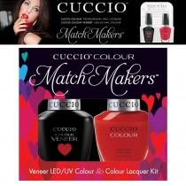 Cuccio Gel Nail Polish Match Maker Veneer A Kiss in Paris UV/LED Varnish Lacquer