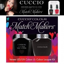 Cuccio Gel Nail Polish Match Maker Veneer 2am in Hollywood UV & Varnish Lacquer