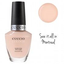 Cuccio Nail Polish Colour Varnish Lacquer Core See it all in Montreal Collection High Gloss Nails 13ml