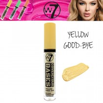 W7 Cosmetic Cover Your Bases Colour Correcting Pigment Concealer Yellow Good-Bye