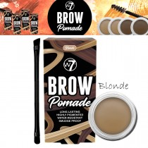 W7 Cosmetics Brow Pomade Long Lasting Water Resistant Easy Application - Blonde