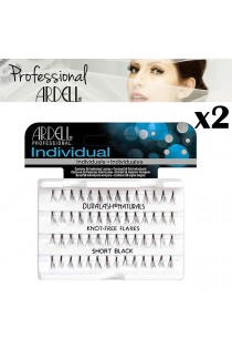 2x Ardell Duralash Naturals Short Black Lashes Eyelashes Salon Cosmetics Make Up