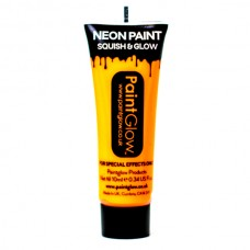 PaintGlow Neon UV Face & Body 10ml Sunshine Orange